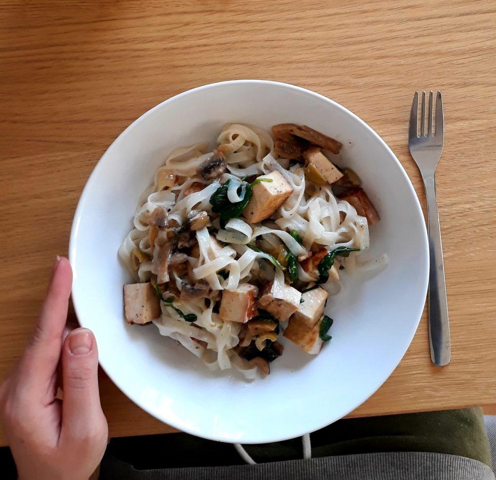 szybki prosty obiad wegetariański